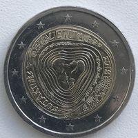 2 евро Литва 2019 г. Сутартинес