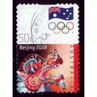 1 марка 2008 год Австралия Олимпиада 3024