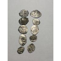 10 проволочных монет с 1 рубля