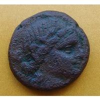 Крупная монета. Боспор, город Пантикапей, Махар, 81- 65 гг. до н. э.