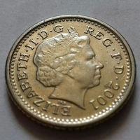 5 пенсов, Великобритания 2001 г., AU