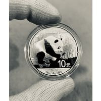 Монета ПАНДА Китая 2016, Серебро, 30g