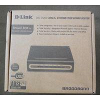 Новый Маршрутизатор D-link DSL-2520U