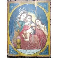 Богородица Иерусалимская. Размер. РЕДКАЯ.