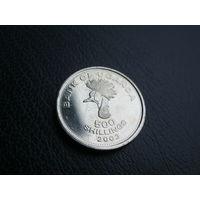 Уганда. 500 шиллингов. 2003 г.