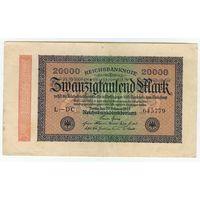 Германия 20000 марок 1923 год.