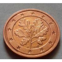 2 евроцента, Германия 2012 A, AU