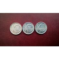 Чехия 10 геллеров, 1997,1999,2001г.