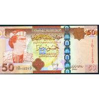 Ливия 50 динар 2008 UNC