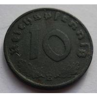 Германия. 10 пфеннигов 1941г.Е.Цинк.
