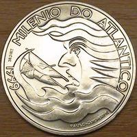 1000 эскудо 1999г. Покорение Атлантики.