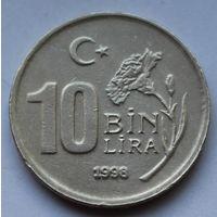 Турция, 10.000 лир 1998 г.