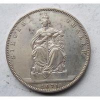 Германия, Пруссия, талер, 1871, серебро, победный