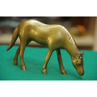Статуэтка латунная Лошадь