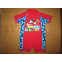Купальный костюм Disney для мальчика, 3-6 мес. (UPF 40+)