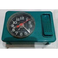 Часы-будильник ЯНТАРЬ электромеханические рабочие