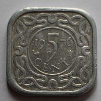 Суринам, 5 центов 1976 г