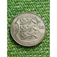 Эстония 1 крона 1998 г