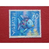 Швейцария 2001г. Рыба.