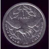 1 Франк 1997 год Новая Каледония