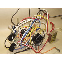Провода с релюшкой и микриками из микроволновки