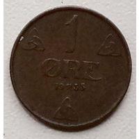 Норвегия 1 эре 1935