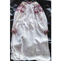 Сорочка домотканая льняная (рубашка, вышиванка), н. 20-го века