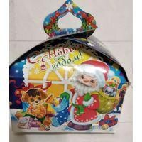 Коробка от новогоднего подарка