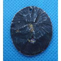 Икона нательная в серебренном окладе