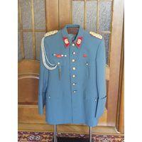 Аутентичный мундир (китель) полковника армии Чили (режим Пиночета) с наградной планкой.