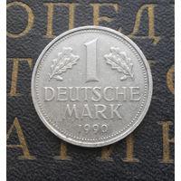 1 марка 1990 (A) Германия ФРГ #01