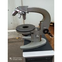 Микроскоп ссср Ломо МБР-1. Без верхнего акуляра.