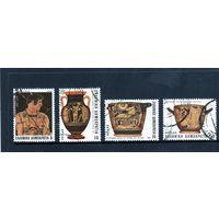 Греция. Ми-1532,1535,1536,1538. Мифология. Греческое античное искусство. 1983.