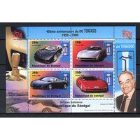 1998 Сенегал. 40 лет итальянскому автопроизводителю De Tomaso