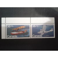 Канада 1979 самолеты сцепка