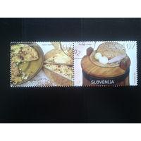 Словения 2005 нац. кухня сцепка