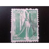 Египет 1978 статуя грифона