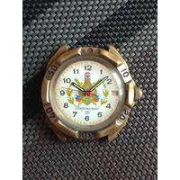 Часы Восток пограничные командирские водонепроницаемые 2414