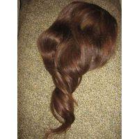 Шеньён-хвостик женский-из натуральных волос,насыщенного русого цвета,окраске не подвергался.