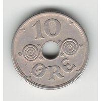 Фарерские острова 10 эре 1941 года. Нечастая!