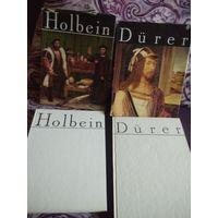 Альбомы репродукций Гольбейн 1977 Holbein и Durer
