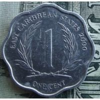 1 цент 2000