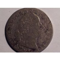 Бавария Карл Теодор 10 крейцеров 1768г