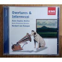 Anne-Sophie Mutter, Herbert von Karajan - Overtures and Intermezzi