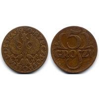 5 грошей 1930, Польша