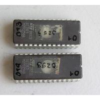 Микросхема памяти  УФ-ППЗУ 27C256B набор 2 шт  цена за пару