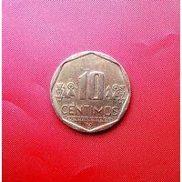87-11 Перу, 10 сентимо 2007 г.