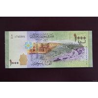 Сирия 1000 фунтов 2013 UNC