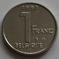 Бельгия, 1 франк 1997 г. 'BELGIQUE'