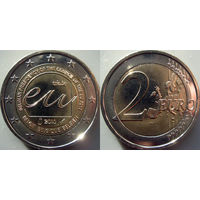 Бельгия, 2 евро 2010 Председательство Бельгии в Совете Европейского союза. UNC.